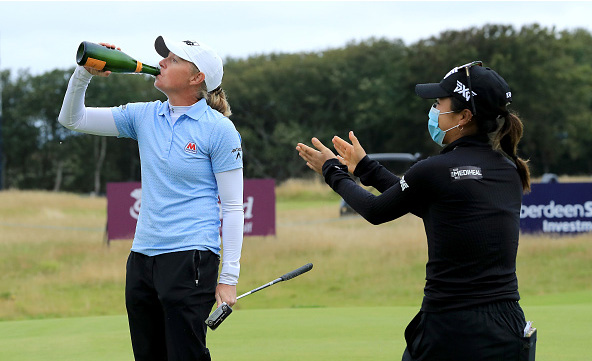 Stacy Lewis Wins Scottish Open