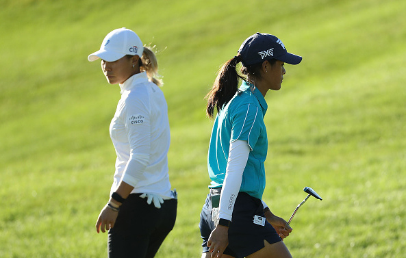 Danielle Kang Celine Boutier LPGA Drive On Championship at Inverness Club