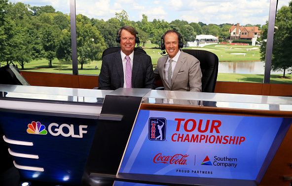 Paul Azinger and Dan Hicks GOLF Channel