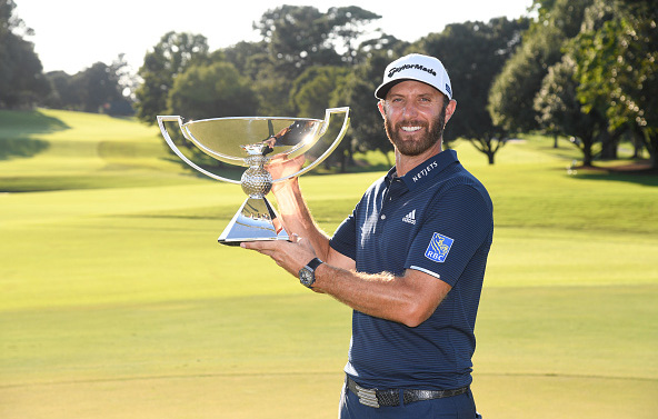 Dustin Johnson Wins FedExCup Tour Championship