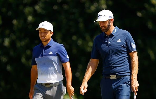 Xander Schauffele and Dustin Johnson