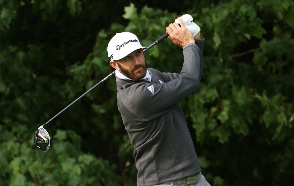 Dustin Johnson 2020 U.S. Open Practice at Winged Foot