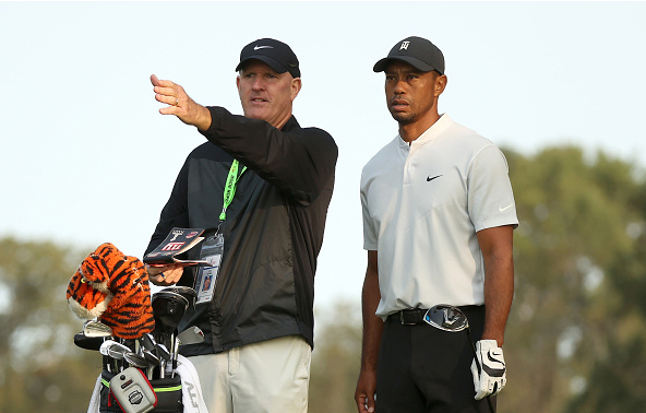 Tiger Woods U.S. Open Practice Round Winged Foot