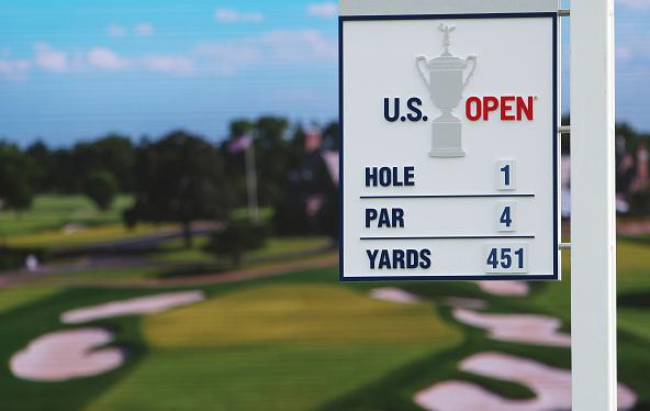 Winged Foot Golf Club Hole 1 2020 U.S. Open