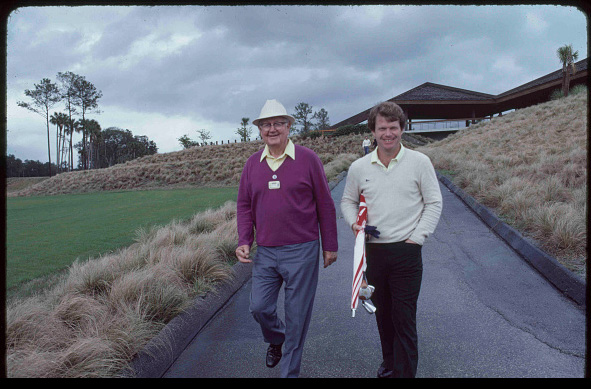 Byron Nelson and Tom Watson