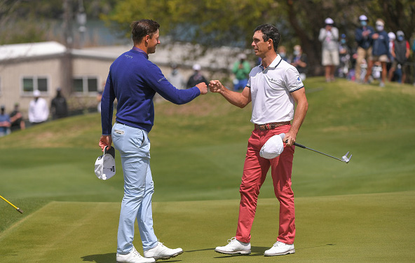 Victor Perez and Billy Horschel