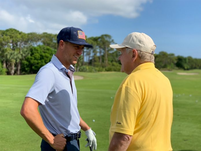 Justin Thomas and Jack Nicklaus PLAYERS Champions Honda Classic