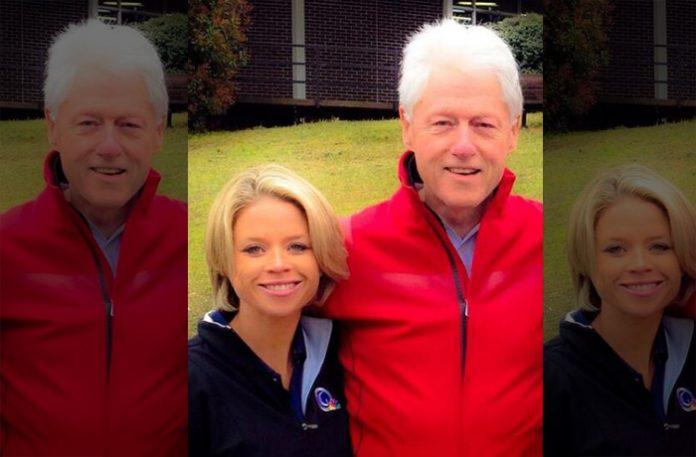 Lisa Cornwell Bill Clinton