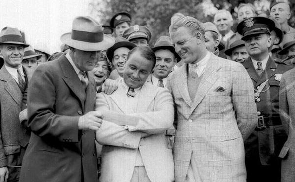 Gene Sarazen 1935 Masters Winner Grantland Rice