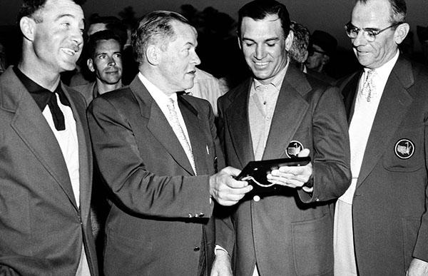 Bobby Jones Ben Hogan 1951 Masters