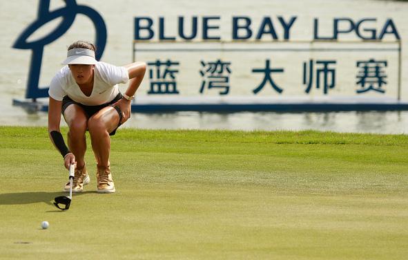 Michelle Wie LPGA Blue Bay China