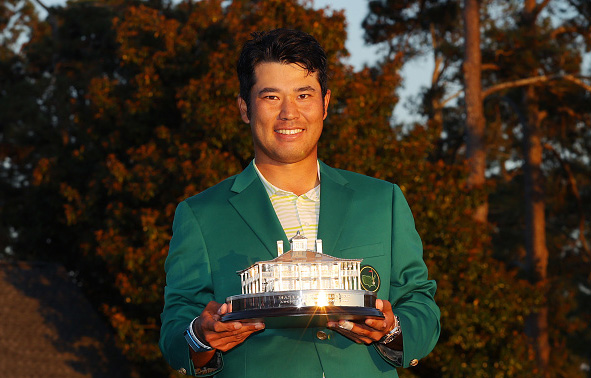 Hideki Matsuyama Wins the 2021 Masters Tournament at Augusta National Golf Club