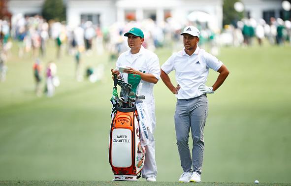 Xander Schauffele 2021 Masters Tournament Augusta National Golf Club