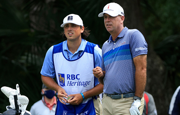 Stewart Cink and Reagan Cink