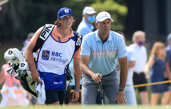 Stewart Cink and Reagan Cink Wins the RBC Heritage