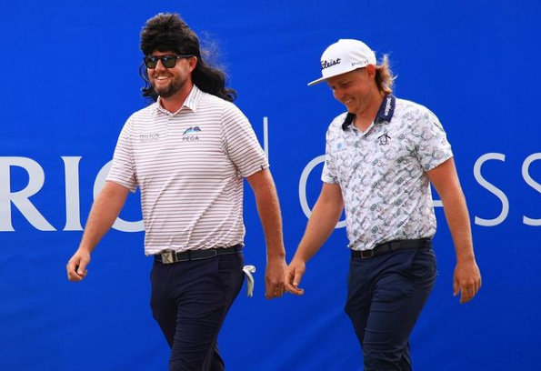 Marc Leishman and Cameron Smith mullers Zurich Classic