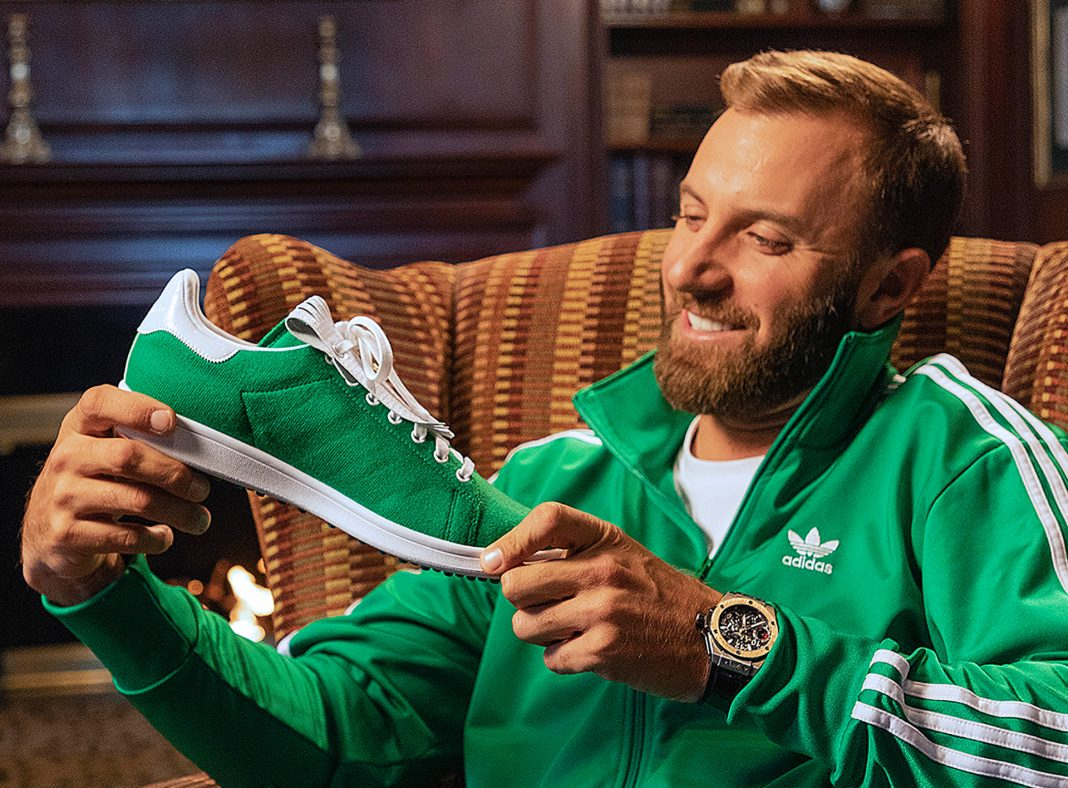 2020 Masters Champion Dustin Johnson Stan Smith Golf Shoe
