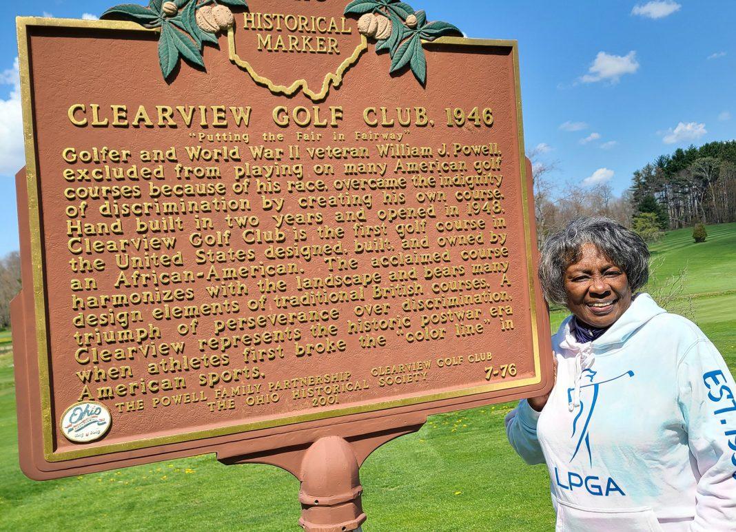 Renee Powell LPGA Hoodie