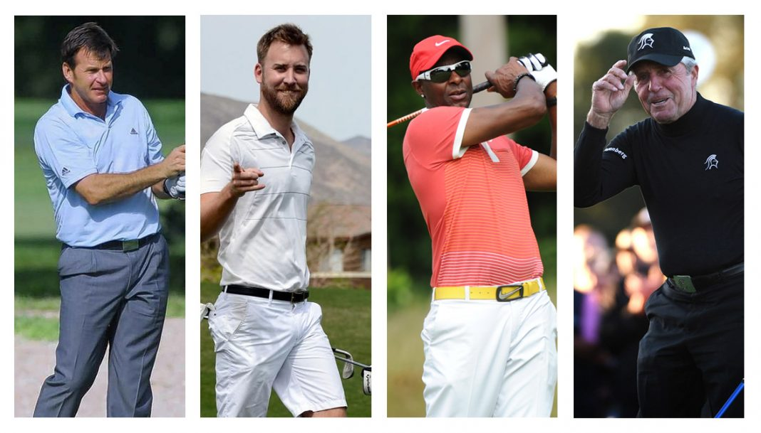 The Match at Myrtle Beach, featuring 6-time Major Champ Nick Faldo, Charles Kelley of Lady A, NFL Hall of Famer Jerry Rice, and 9-time Major Winner Gary Player.