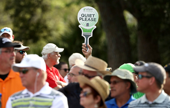 Valspar Championship Quiet Please Sign Innisbrook Resort Copperhead Course