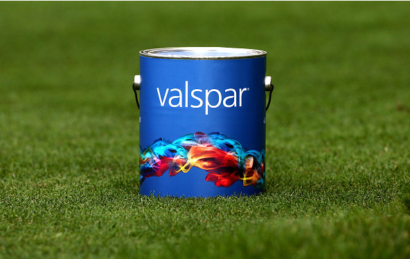 Valspar Championship Tee Markers Paint Cans Innisbrook Resort Copperhead Course
