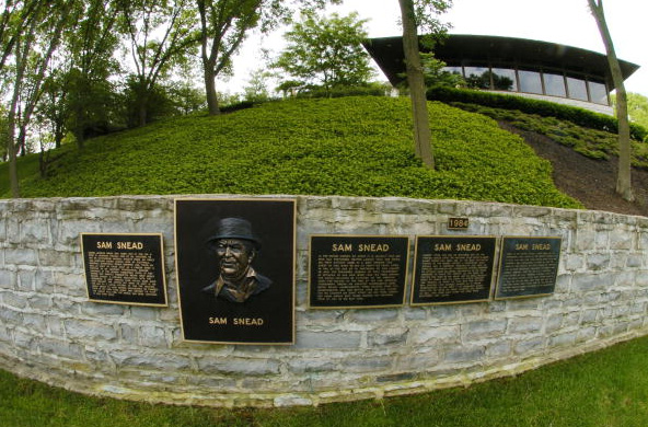 The Memorial Tournament Wall of Honor Sam Snead