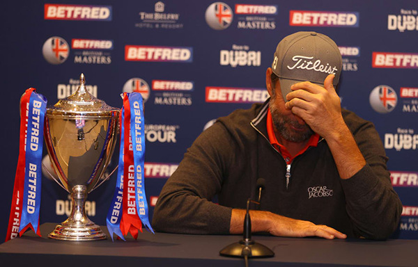 Richard Bland Wins Betfred British Masters at The Belfry