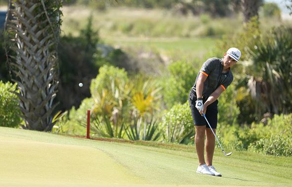 Garrick Higgo Day 2 Practice 2021 PGA Championship at Kiawah Island Resort's Ocean Course