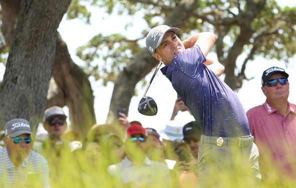 Justin Thomas Day 2 Practice 2021 PGA Championship at Kiawah Island Resort's Ocean Course