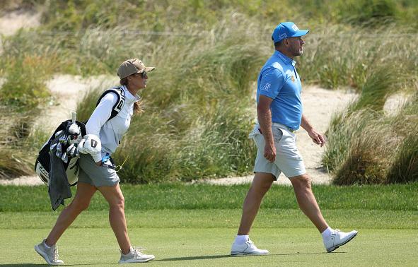 Lee Westwood Day 3 Practice 2021 PGA Championship at Kiawah Island Resort's Ocean Course