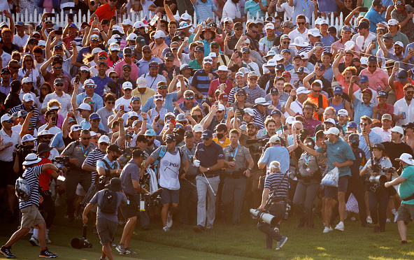 Phil Mickelson Crowd