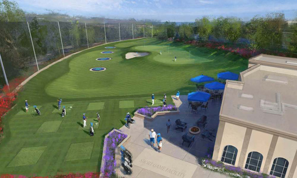 Purcell Family Short-Game Practice Facility