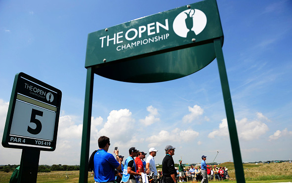The Open at Royal St George's, Sandwich