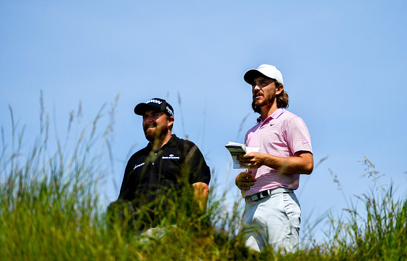 Tommy Fleetwood with Shane Lowry