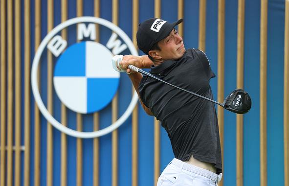 Viktor Hovland Leads BMW International Open
