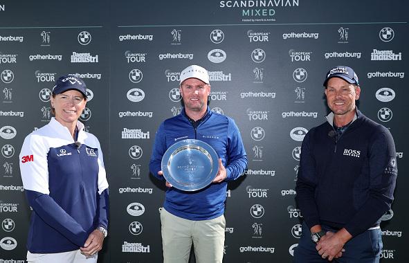 Jonathan Caldwell Wins 2021 Scandinavian Mixed Hosted by Henrik and Annika at Vallda Golf & CC