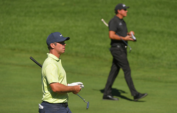 Paul Casey and Phil Mickelson