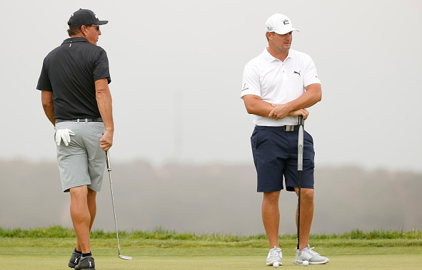 Phil Mickelson and Bryson DeChambeau