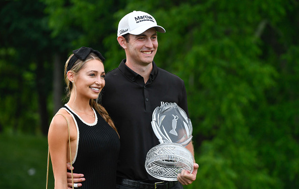 Patrick Cantlay and Girlfriend Wins the Memorial Tournament