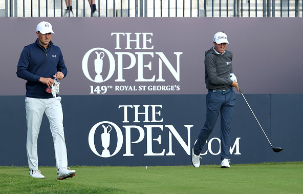 Justin Thomas and Jordan Spieth 149th Open Championship St George's