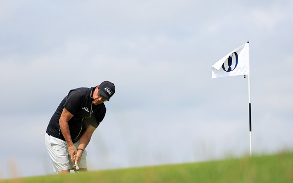 Phil Mickelson 149th Open Championship St George's