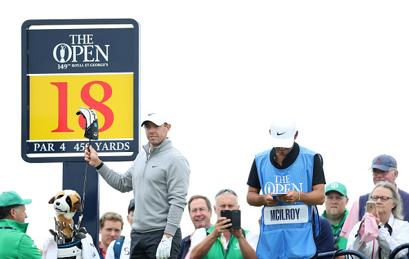 Rory McIlroy 149th Open Championship St George's