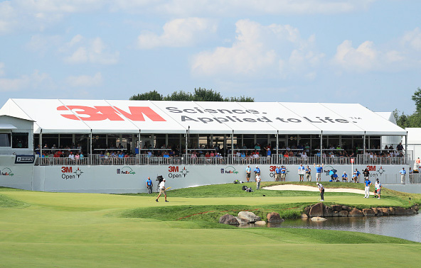 3M Open TPC Twin Cities 18th Hole