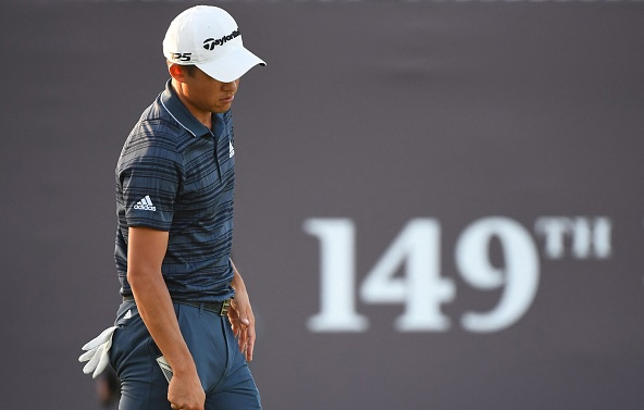 Collin Morikawa 149th Open Championship Royal St Georges