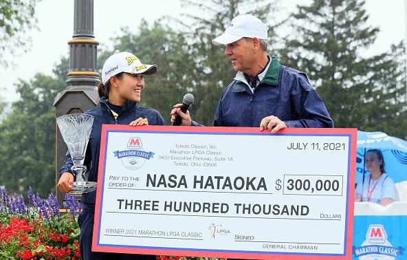 Nasa Hataoka Wins 2021 Marathon LPGA Classic