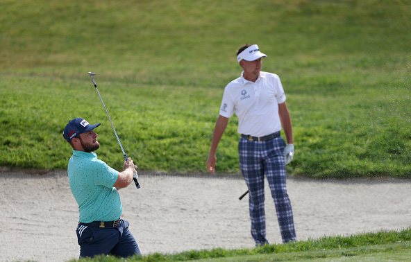 Tyrrell Hatton and Ian Poulter