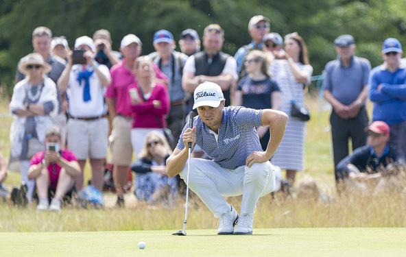Justin Thomas Scottish Open