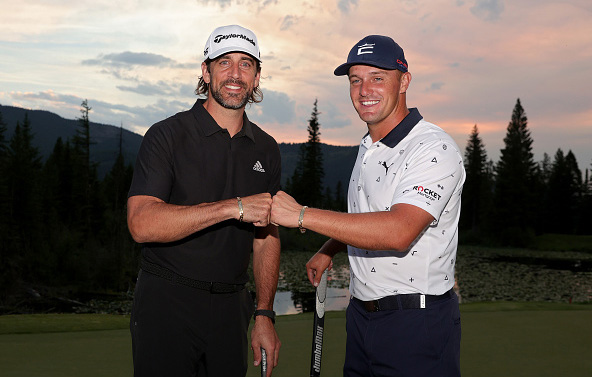 Aaron Rodgers and Bryson DeChambeau Win Capital One The Match