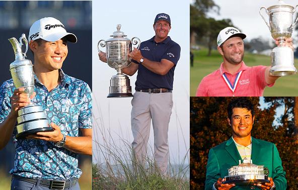 The Four 4 Major Winners 2021