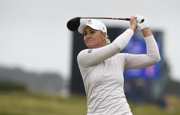 Anna Nordqvist Leads AIG Women's Open